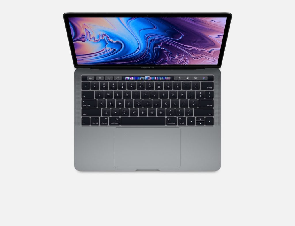 MacBook Pro 13 inch with touch bar